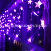 Cadena de RGB LED Light Star Icicle Light para Navidad