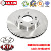 Rotor de frein à disque de véhicule de série de rue pour Hyundai/KIA