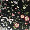 Stickerei-Ineinander greifen mit Blumen anderer Entwurf und Farbe