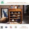 Gabinete de madeira feito-à-medida da cremalheira da sapata