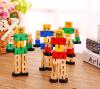 나무로 되는 변압기 아이들 장난감