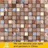 Mosaico caldo di cristallo di vendita con metallo e la pietra dorati