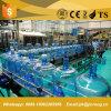 cadena de producción del agua de botella de 900bph 5gallon