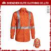 Chemise r3fléchissante de longs de chemise salut vêtements de travail de force (ELTHVSI-7)