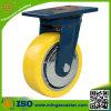 8 Zoll - hohe Qualitätspolyurethan-Rad-Hochleistungsfußrolle