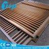 Панель новой конструкции деревянная высеканная для алюминиевого декоративного Trellies