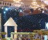 Cortina da estrela do diodo emissor de luz para contextos do casamento do partido