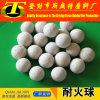 オレフィンプロセスのためのアルミナの陶磁器の球の処理し難い球