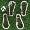 Gancho de leva del broche de presión del acero inoxidable con el remache DIN5299d