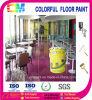 Design colorido Floor Paint para Workshop