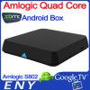 Коробка 2G/8G XBMC TV сердечника квада Amlogic S802 Android