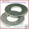 Rondelles rondes galvanisées de l'acier du carbone DIN6916 pour des boulons d'adhérence de frottement