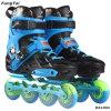 インラインスケートは72 76 80mm (DA1004)蹄鉄を打つPUの車輪が付いているローラーのPatinsのスポーツの靴に