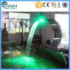 Acero inoxidable 304 cascada de la cortina de agua de BALNEARIO de 316 nadadas LED