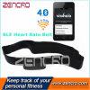 연약한 악대 Bluetooth 낮은 에너지 심박수 모니터 벨트