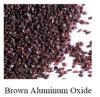 Brown de óxido de aluminio