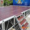Étape réglable de grand de contre-plaqué d'événement grand de la plate-forme DEL aluminium extérieur extérieur modulaire de performance