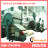 화장실 Paper 또는 Facial Tissue Paper/Napkin Paper/Serviette Paper Making Machinery