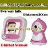 3.5 pulgadas Baby Monitor con la Dos-manera Talk (NC-830S)