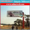 Single Pole Double Side Trivision Billboard