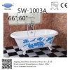 Bañera de hierro fundido con patrón (SW-1003A)