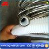 PTFE de ánima lisa/enrolló la manguera flexible del Teflon industrial