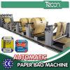 Máquina impulsada por motor automática llena de la fabricación de papel de Kraft con el sistema servo