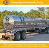 2 Water van de Melk van het Behoud van de Hitte van het Roestvrij staal van assen het Verse of Vloeibare Semi Aanhangwagen