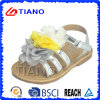 Sandalias planas del PVC Crastal de la nueva manera para la muchacha (TNK50016)