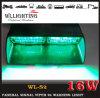 Indicatore luminoso automatico del veicolo LED del pannello interno d'avvertimento della visiera della polizia S2