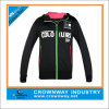 Meninas Knitted Tricot Track Training Jacket com Hoody