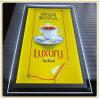 De Opslag die van de koffie Acryl Lichte Doos met A3 Beeld adverteren