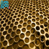 Fabbrica Supply Round Hole Copper Perforated Metal per Soundproof Grille