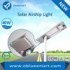 Luz de rua solar de Bluesmart com o diodo emissor de luz solar do sensor de movimento
