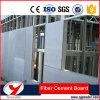 Placa de cimento de fibra decorativa interior de parede de partição