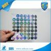Etiquetas adhesivas vendedoras calientes del holograma