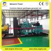 groupe électrogène de biogaz d'usine du méthane 500kw