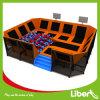 Trampoline interno do retângulo do fabricante de Liben com poço da espuma