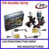 C.A. 12V/24V de Xenon HID Kit do Bi, 35watt H4 olá! Lo HID Xenon Bulb