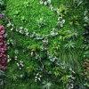 С УФ защитой искусственных листьев растений хеджирования вертикальный сад зеленый фон стены для проведения свадебных магазинов Office Store ресторан отеля дома декор ландшафтный дизайн
