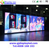 Afficheur LED P6 de publicité polychrome de location d'intérieur