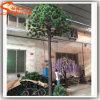 庭の装飾のガラス繊維人工的なLEDのヤシの木