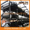 Стоянка автомобилей штабелеукладчика автомобиля подъема автомобиля столба 4 гидровлическая