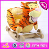 Brinquedo de balanço de madeira novo, Giocattolo um Dondolo, brinquedo de balanço do contrapeso de madeira, passeio de madeira do brinquedo das crianças, brinquedo de balanço para o bebê W16D078