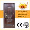 熱伝達の単一葉の機密保護の鋼鉄ドア(SC-S113)