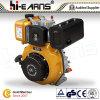 Motor diesel con el color del amarillo del petirrojo del eje de la chavetera (HR178F)