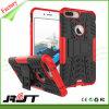 2 en 1 caso combinado de la cubierta de Kickstand del teléfono móvil de la PC de TPU para el iPhone 7