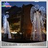 Quirlandes électriques de jardin de Noël de cornière de décoration décorative extérieure de vacances