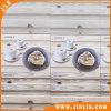 Los materiales de construcción popular café de madera de la luz de pared de azulejos de cerámica