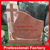 Grafsteen van de Grafsteen van het graniet de Dwars voor Begraafplaats en Monument